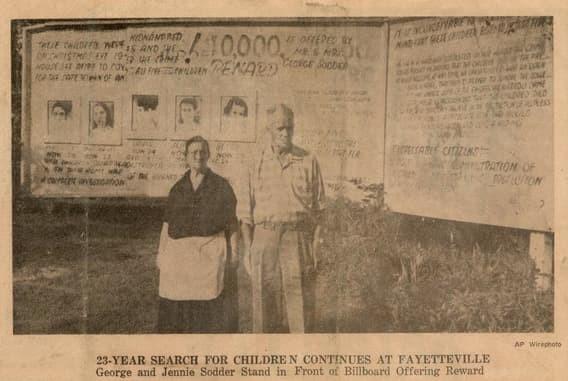 Дети семьи Соддер из Файетвилля загадки, инопланетяне, исчезновения, тайны