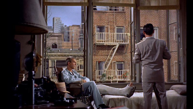 a review of rear window a film by alfred hitchcock Five mysterious stars alfred hitchcock's rear window is one of the all-time classic suspense movies, has an excellent cast, and is based on the short story by cornell woolrich the movie may come as a surprise to some in terms of the overall movie set, the odd plot development, and how the cast is deployed throughout.