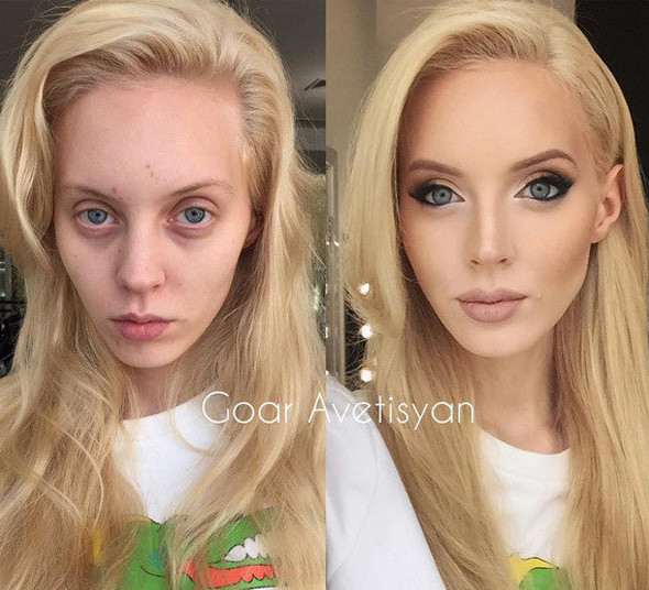 Почему-то девушки уверены, что их обман никогда не вскроется девушки, макияж, обман, прикол, юмор