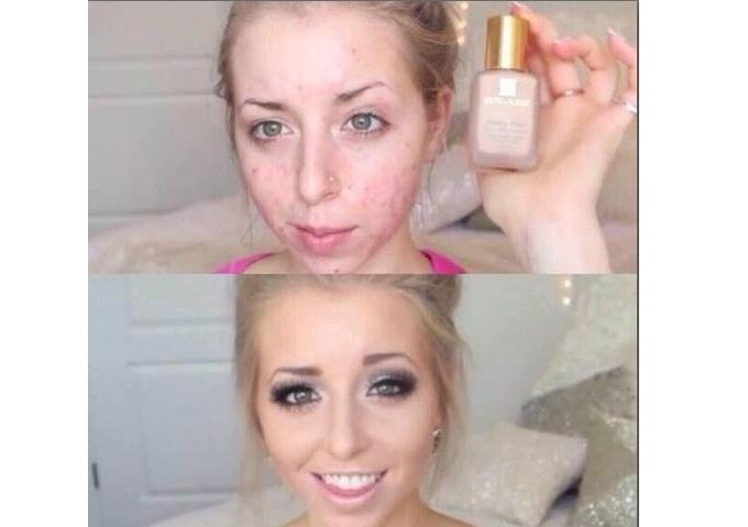 Производители косметики, остановитесь!!! девушки, макияж, обман, прикол, юмор