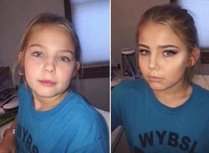 Машина времени: из 9 лет в 21 год девушки, макияж, обман, прикол, юмор