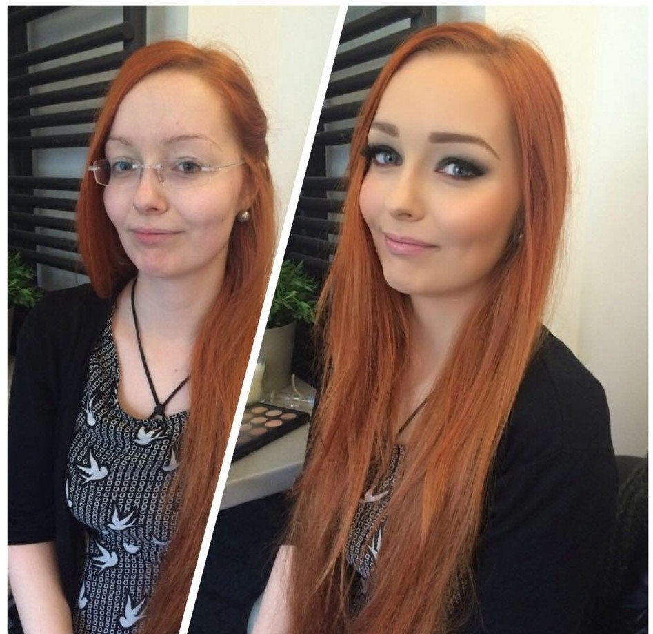 Вы верите, что это один и тот же человек? девушки, макияж, обман, прикол, юмор
