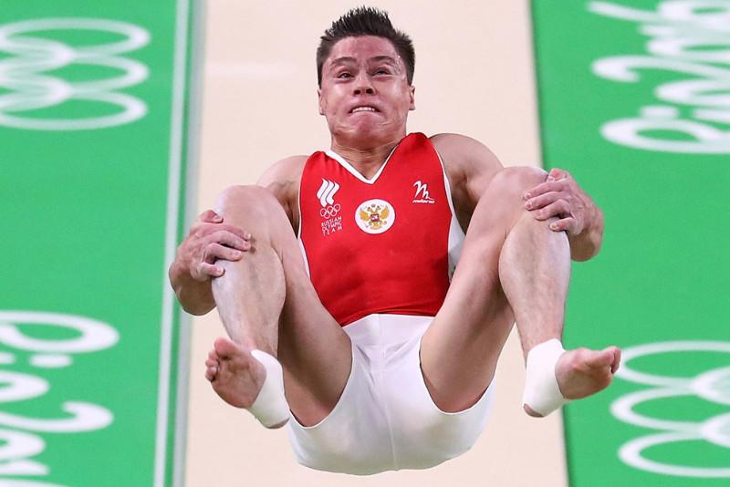 Русский гимнаст Никита Нагорный. олимпиада, рио2016, спорт