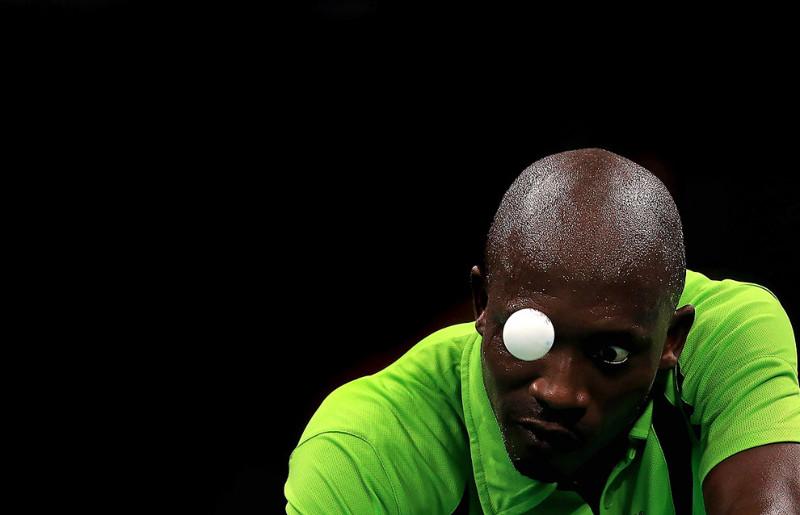 Еще одно лучшее лицо Олимпиады из мира настольного тенниса. олимпиада, рио2016, спорт