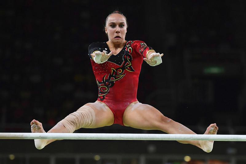 Еще одна заявка на лучшее лицо из гимнастики. олимпиада, рио2016, спорт