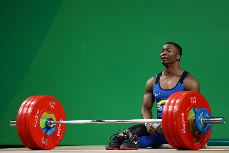 Претендент из Колумбии. олимпиада, рио2016, спорт