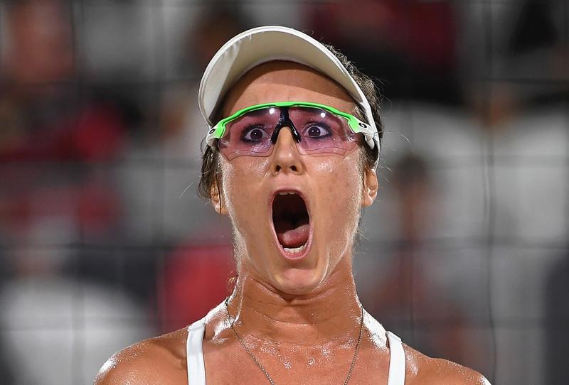 Лучшее лицо пляжного волейбола олимпиада, рио2016, спорт