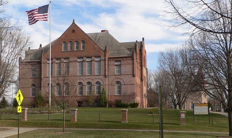 7. Федеральная тюрьма Янктон (Южная Дакота, США) мир, психлечебница, тюрьма