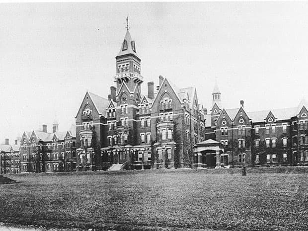 3. Государственная больница Дэнверс (Массачусетс, США) мир, психлечебница, тюрьма