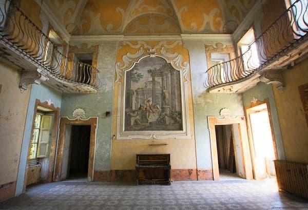 13. Вилла Сбертоли (Италия) мир, психлечебница, тюрьма