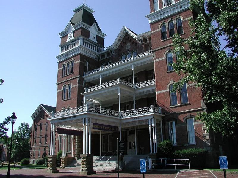 12. Психиатрическая лечебница в Афинах (Огайо, США) мир, психлечебница, тюрьма