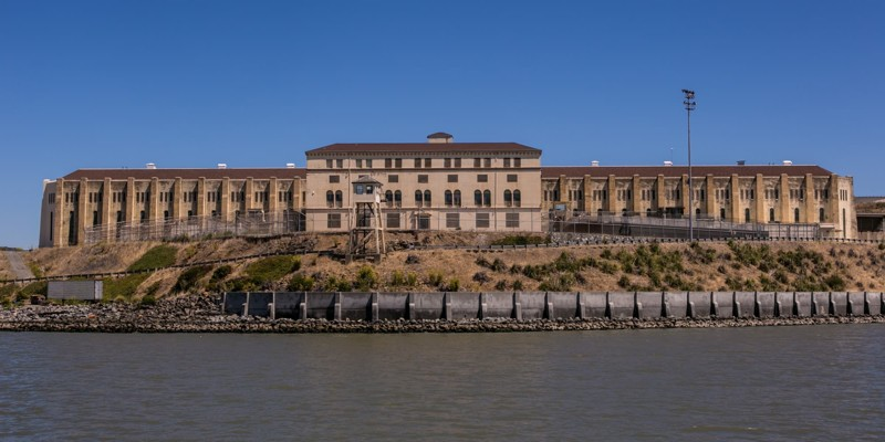 10. Государственная тюрьма Сан-Квентин (Калифорния, США) мир, психлечебница, тюрьма