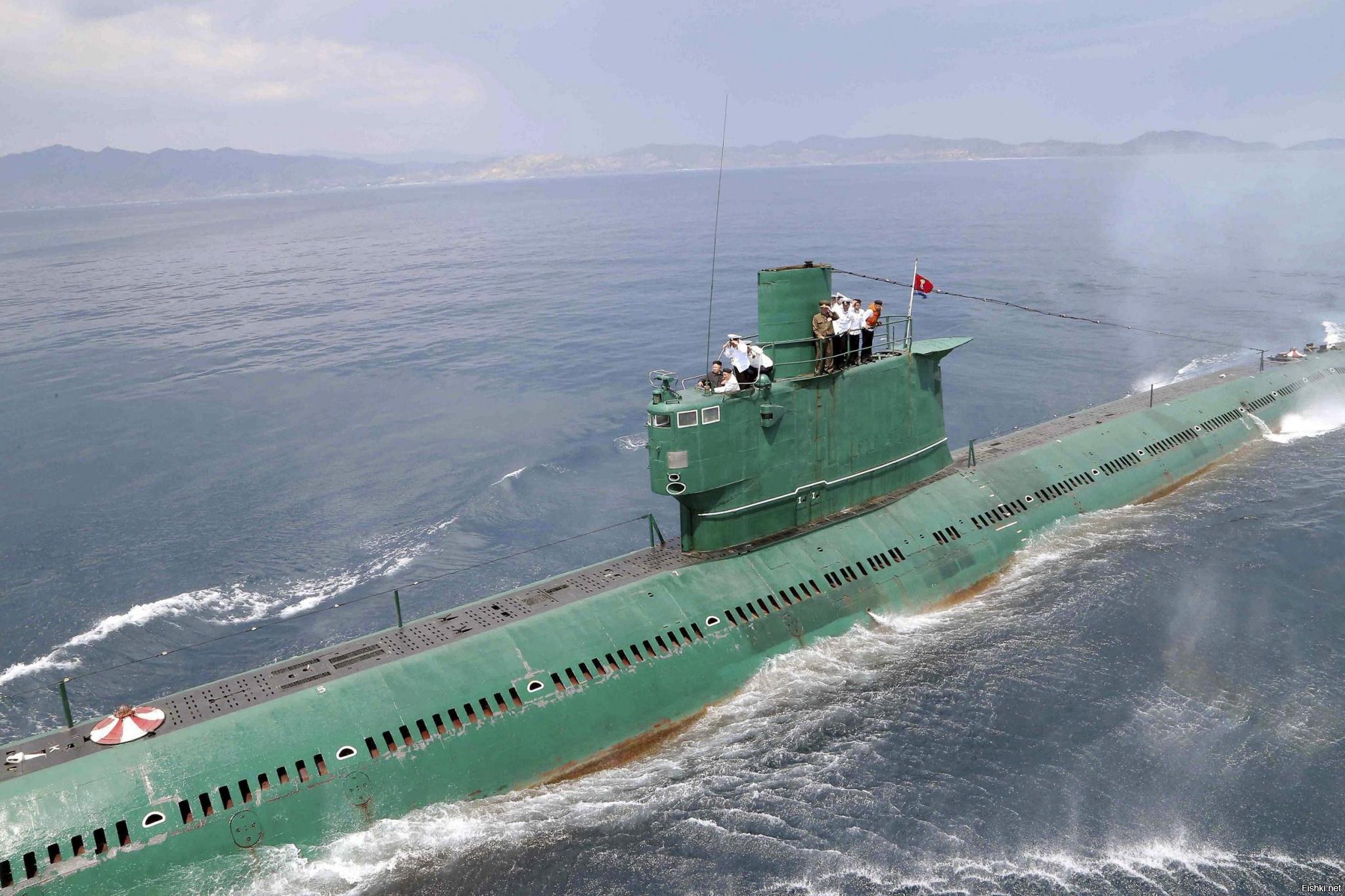 северокорейская подводная лодка 1996