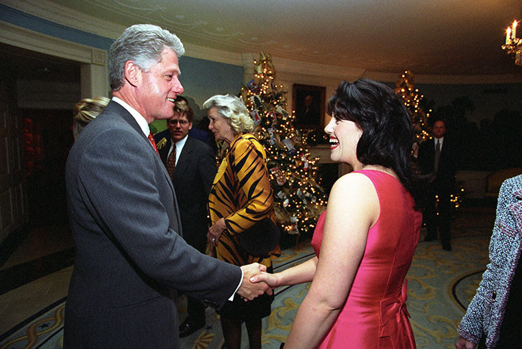 an analysis of the clinton lewinsky scandal in the united states of america