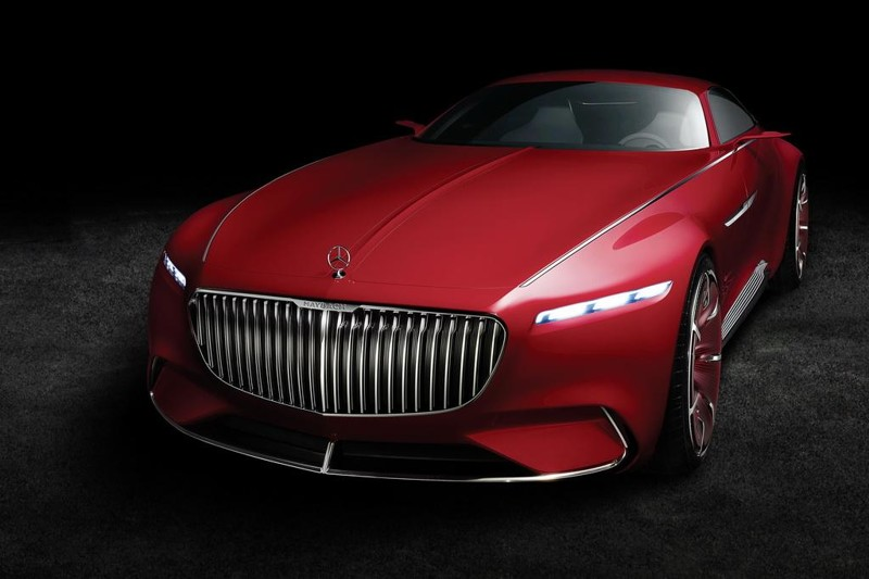 Концептуальный Vision Mercedes-Maybach 6 раскрывает секреты