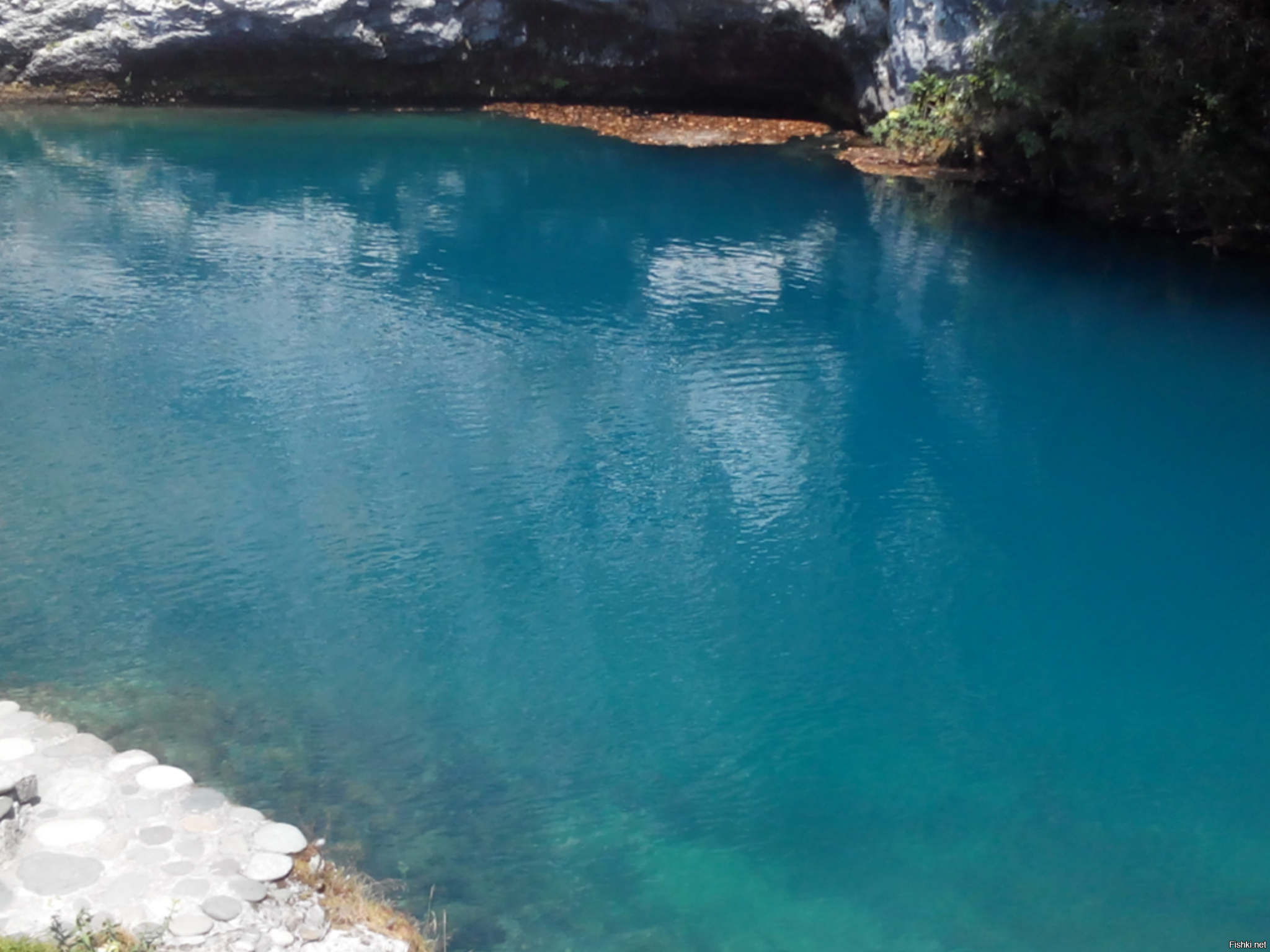 голубое озеро греция фото проект таков