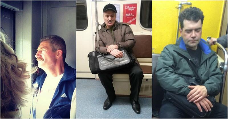 Женские прелести в общественном транспорте