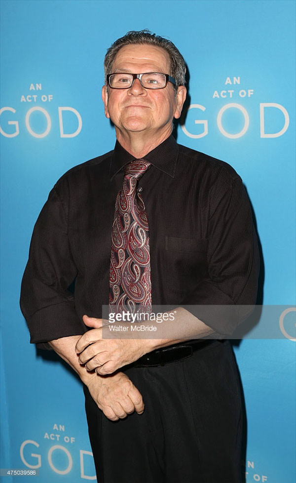 Tim Kazurinsky attends the Broadway Opening Night after party for 'An Act of God' at Studio 54 on May 28, 2015 in New York City. (Photo by Walter McBride/WireImage)  звезды, история, полицейская академия, факты