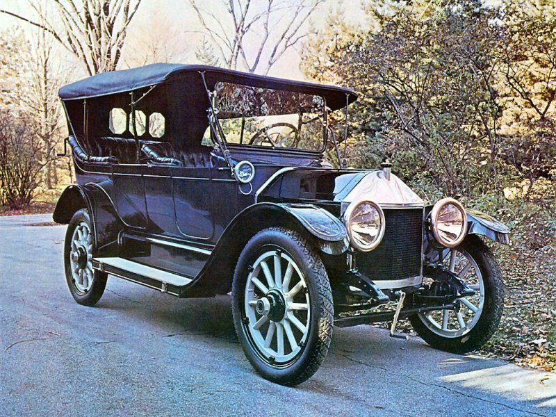 Chevrolet Series C Classic Six (1913) — первый серийный Chevrolet. интересно, история