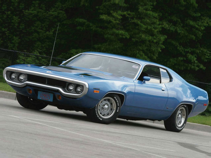 4. Plymouth Road Runner авто, история, факты