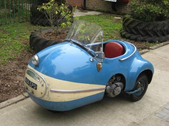 Brutsch Mopetta автомобили, миниатюрные автомобили, техника