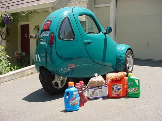 Corbin Sparrow автомобили, миниатюрные автомобили, техника