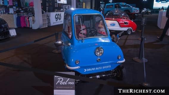 Peel P50 автомобили, миниатюрные автомобили, техника