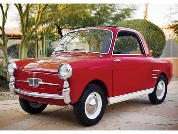 Autobianchi Bianchina Transformabile автомобили, миниатюрные автомобили, техника