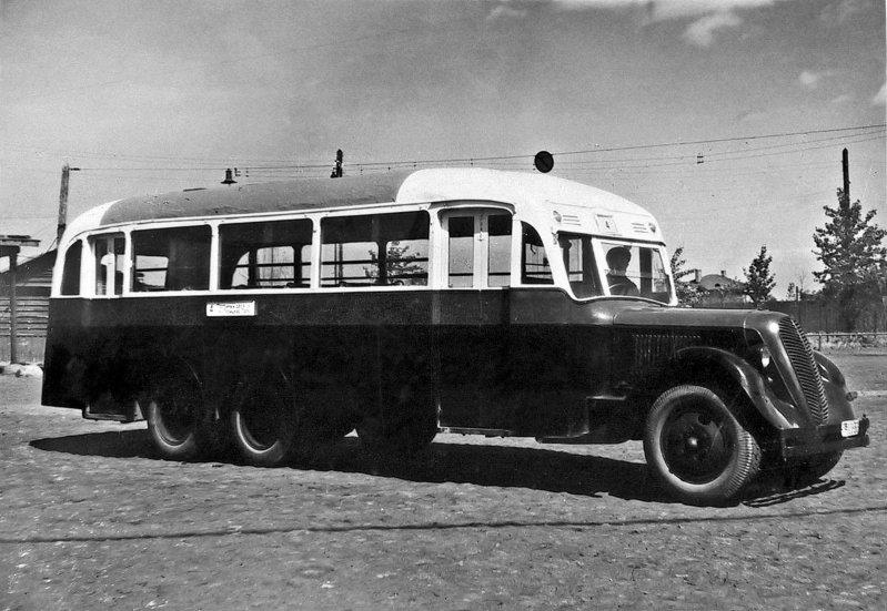 ЗИС-8А СССР, автобус