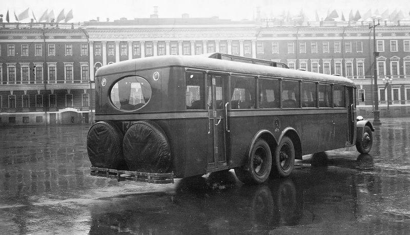 ЯА-2 СССР, автобус