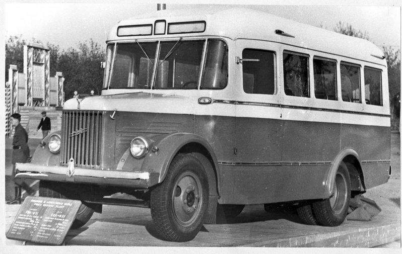 ГЗА-651 СССР, автобус