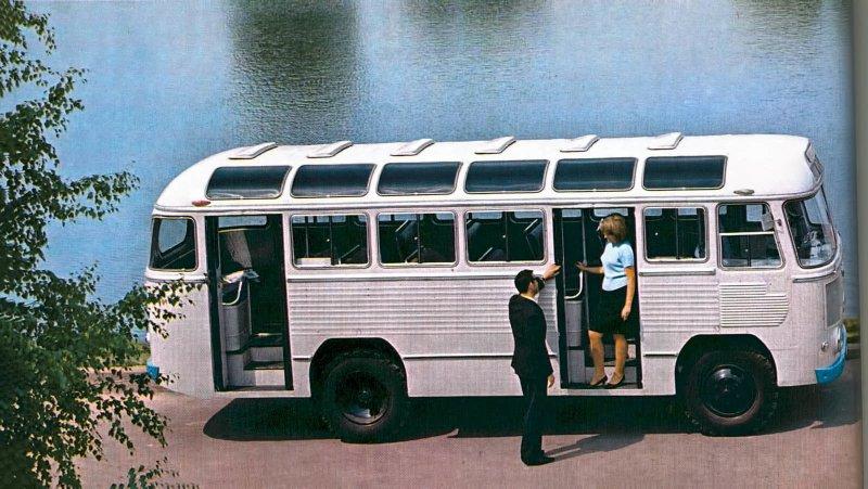 ПАЗ-652 СССР, автобус