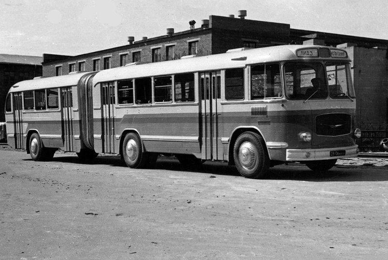 ЛиАЗ-5Э676 СССР, автобус
