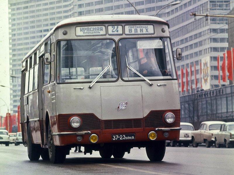 Автобусы из СССР - серийные и экспериментальные СССР, автобус