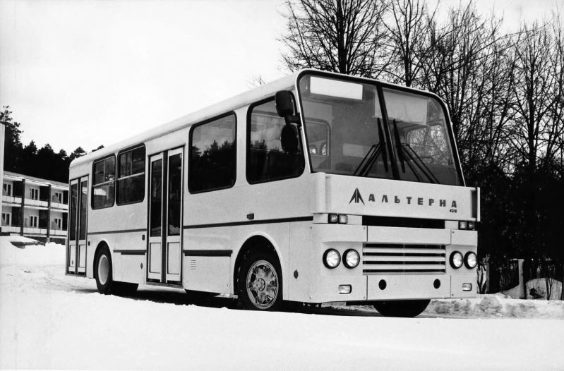 Альтерна СССР, автобус