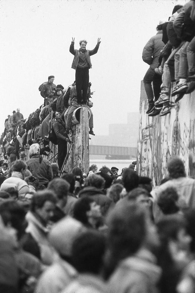 Берлин, 1989 год. было, история, фото