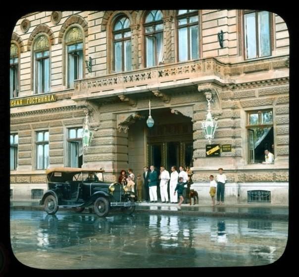 Гостиница Лондонская,Одесса ,30-е годы было, история, фото