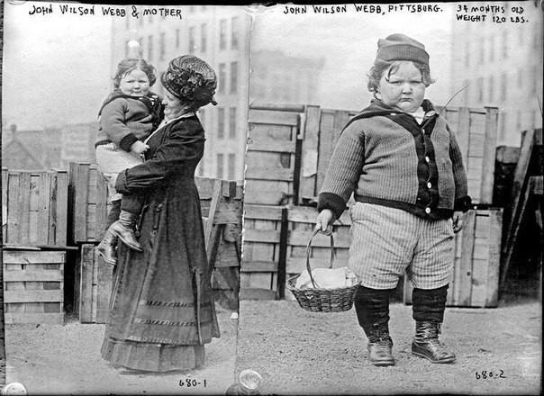 Джон Уилсон Уэбб и его мать. было, история, фото