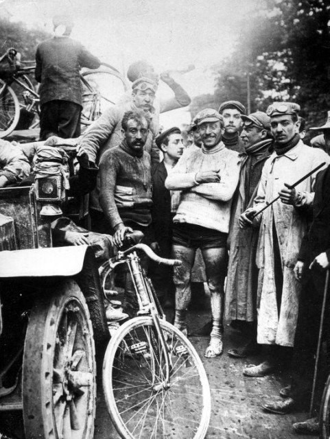 Морис Гарне - победитель первой велогонки Тур де франс, 1903 год. было, история, фото