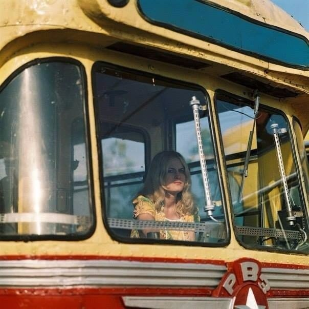 Водитель трамвая, 1970-е. СССР. было, история, фото