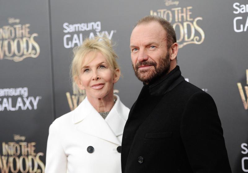 Стинг и Труди Стайлер вместе 24 года знаменитости, любовь, отношение