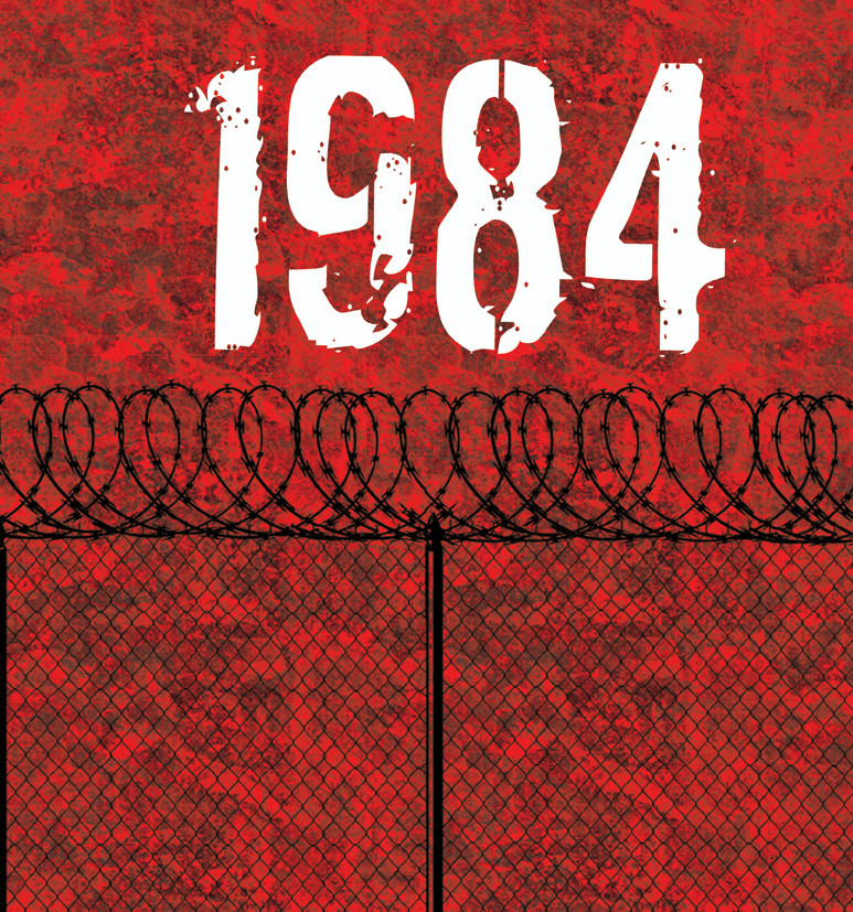 the positive and negative side of an authoritative society in 1984 a novel by george orwell
