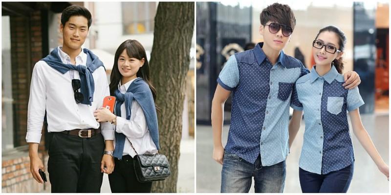 1. Пары в одинаковой одежде trendy, азия, безумие, мода, япония