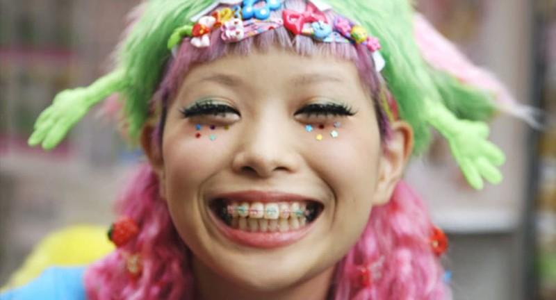 12. Фальшивые брекеты trendy, азия, безумие, мода, япония