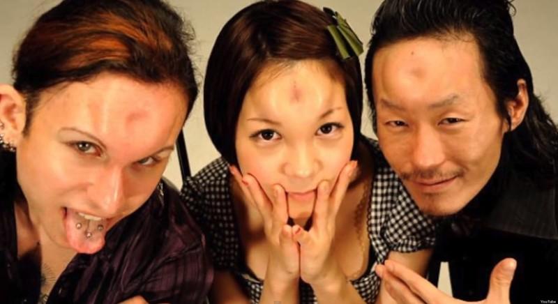 9. Голова-бублик trendy, азия, безумие, мода, япония