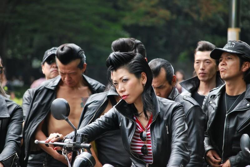 8. Японский рокабилли trendy, азия, безумие, мода, япония