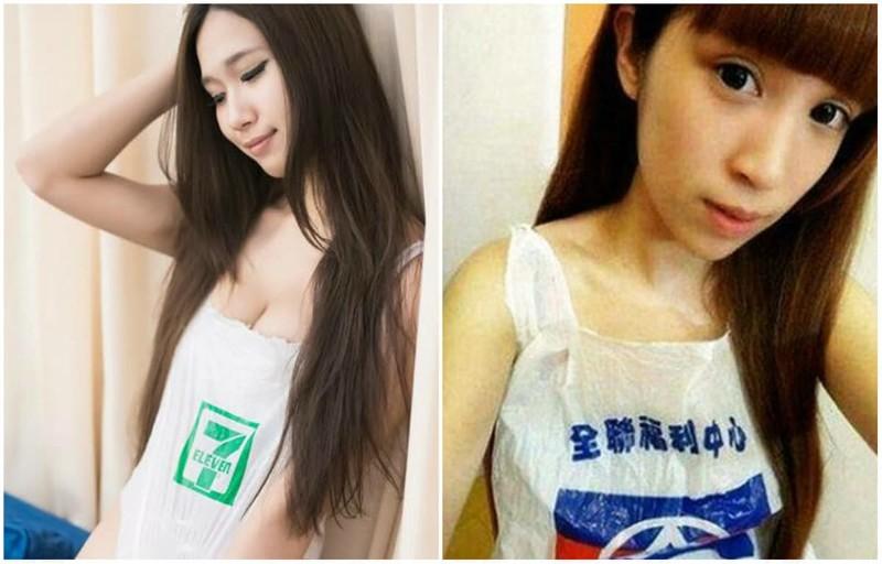 4. Наряды из пакетов trendy, азия, безумие, мода, япония