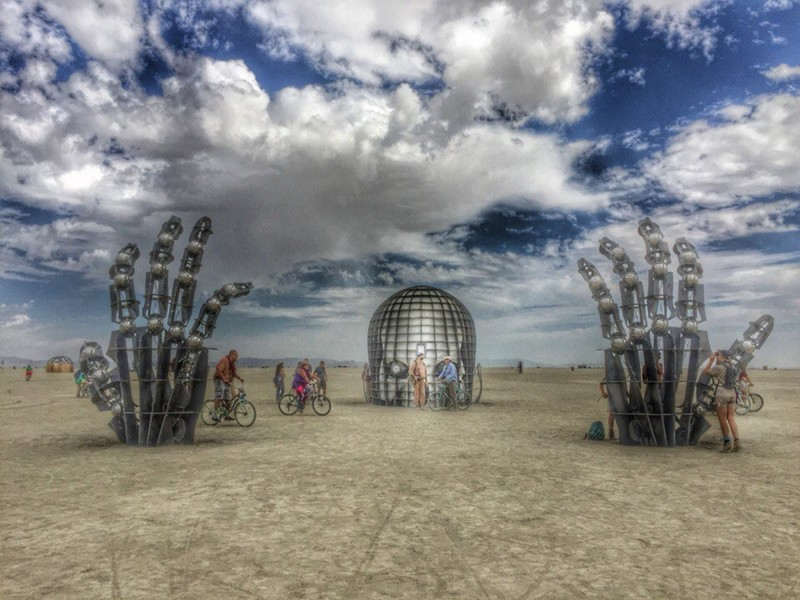 Фестиваль Burning Man burning man, невада, фестиваль