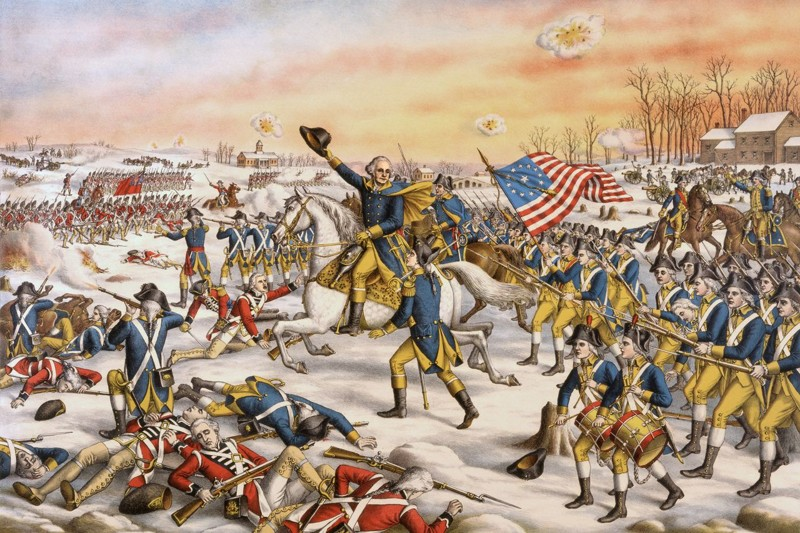 an overview of the revolutionary war for the independence of the united states from the british rule