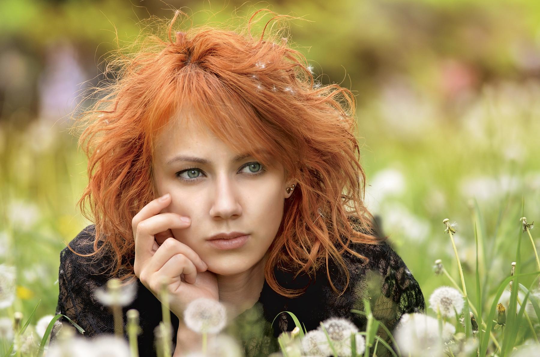 Рыженькие девушки красивые, Красивые и стройные девушки с огненно-рыжими 11 фотография